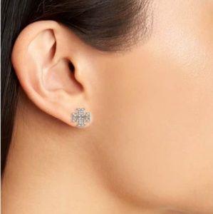 Tory Burch Jewelry - Tory Burch Stud Crystal Earings